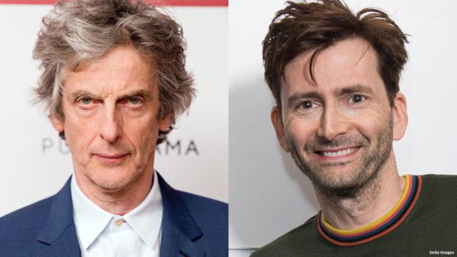 Comp image of Peter Capaldi and David Tennant