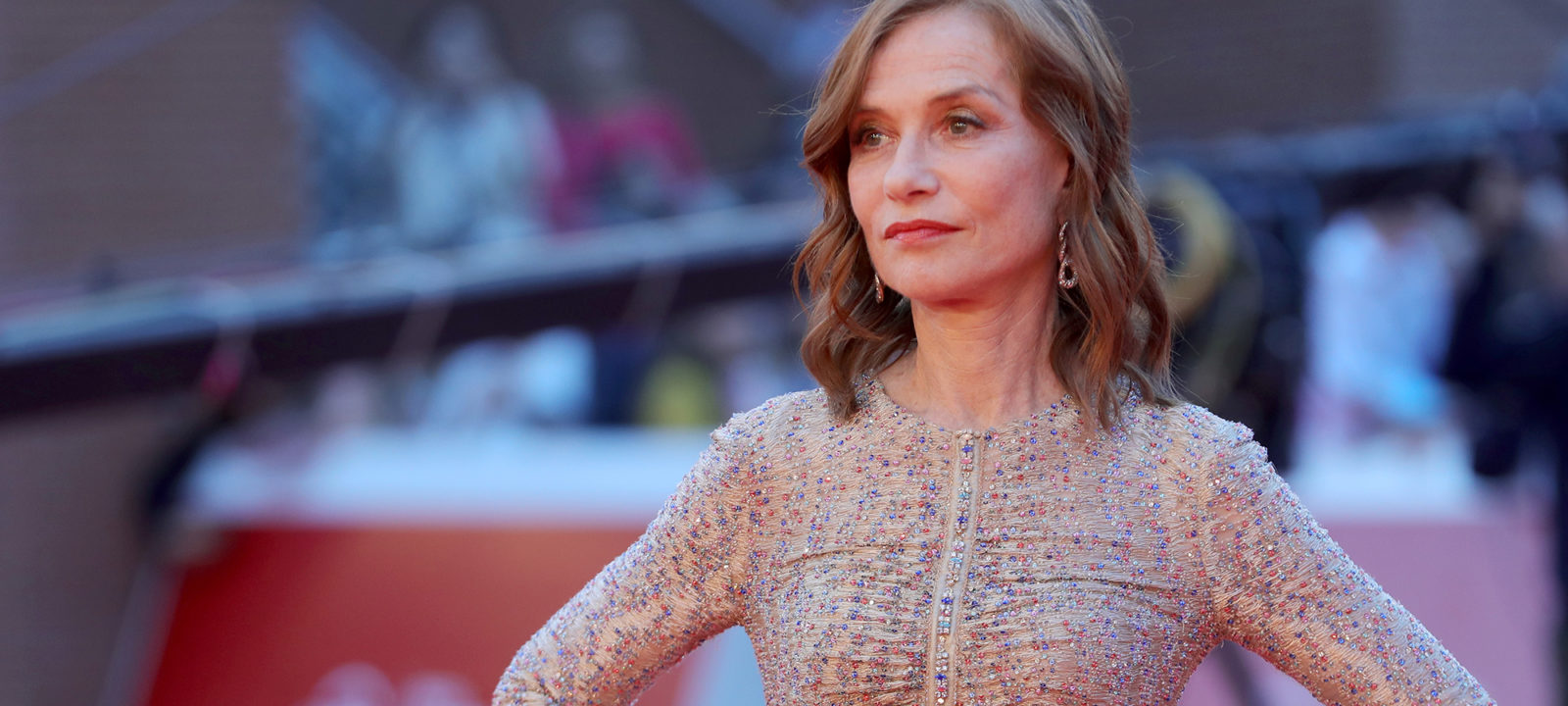 Isabelle Huppert Red Carpet – 13th Rome Film Fest