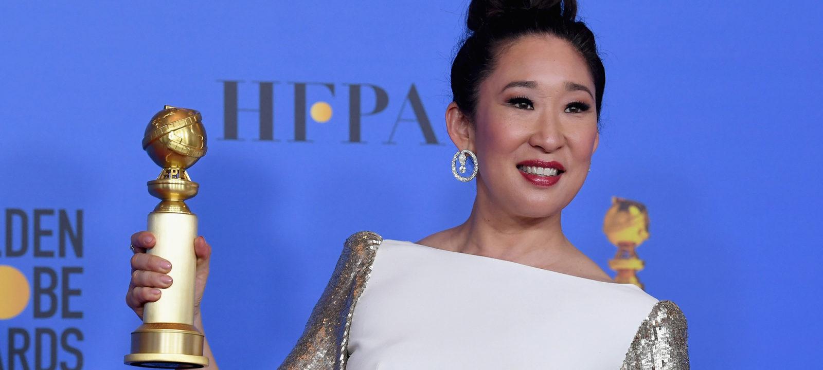 76th Annual Golden Globe Awards – Press Room