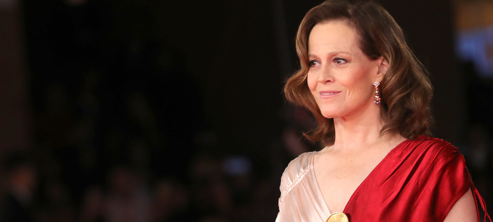 Sigourney Weaver Red Carpet – 13th Rome Film Fest