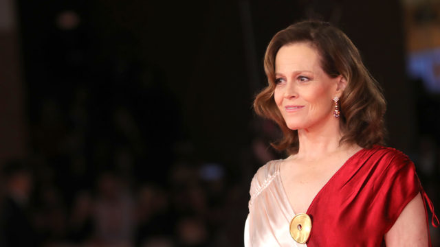 Sigourney Weaver Red Carpet – 13th Rome Film Fest