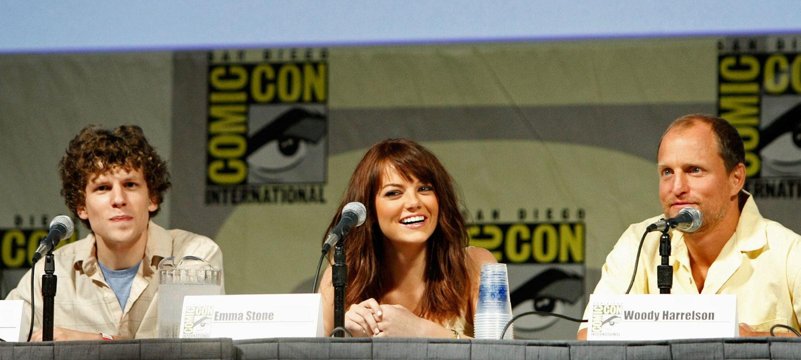 """Comic-Con 2009 – Day 3 – """"Zombieland"""" Panel Discussion"""