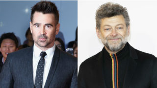 Colin Farrell Andy Serkis