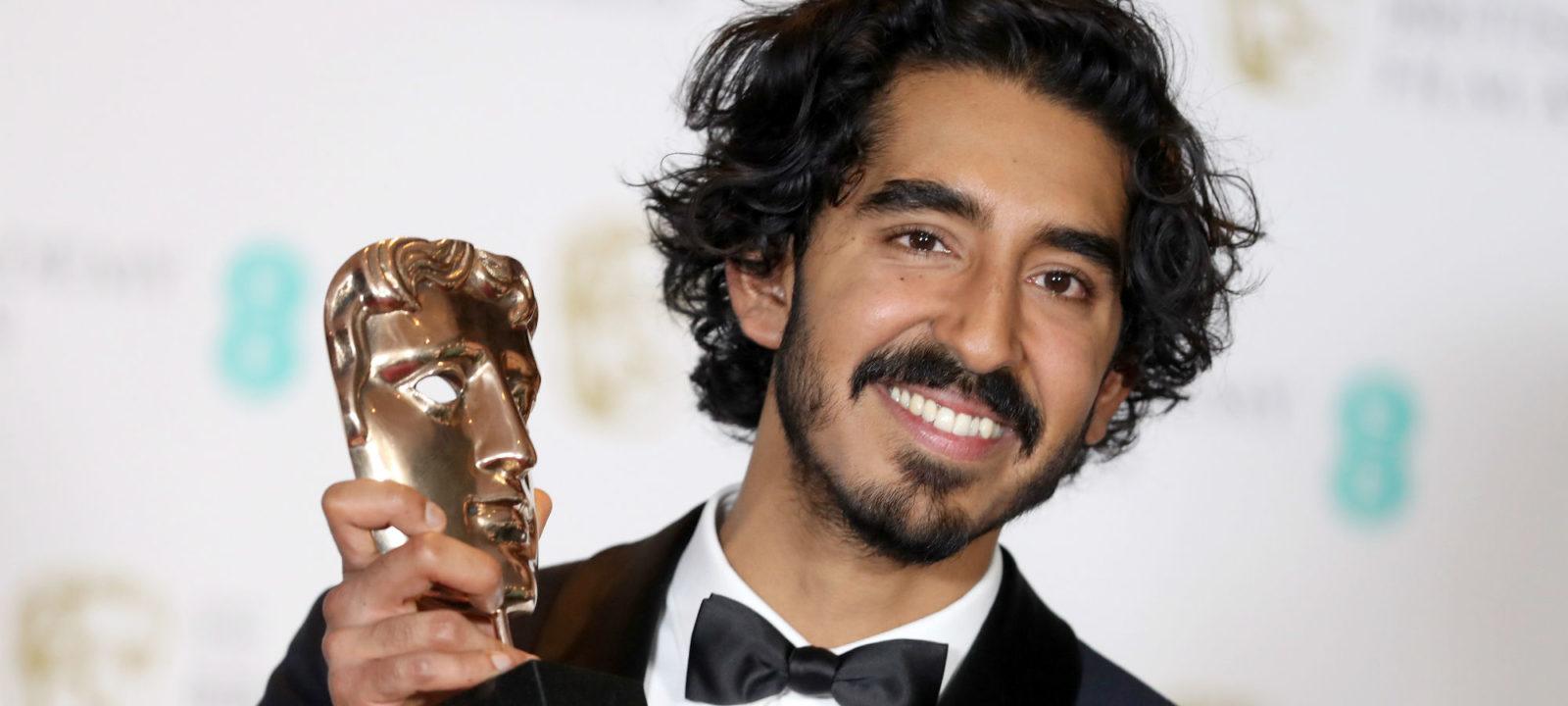 Dev Patel at BAFTA Film Awards