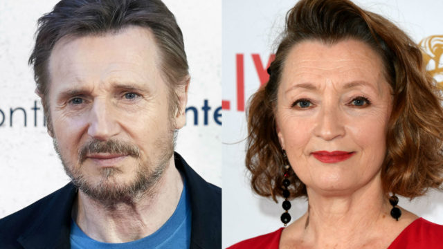 Liam Neeson Lesley Manville