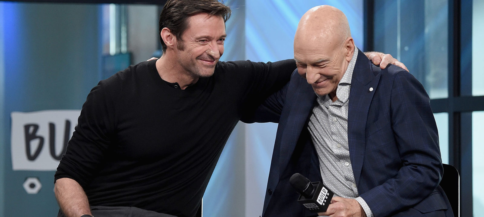 "Build Series Presents Hugh Jackman And Patrick Stewart Discussing ""Logan"""