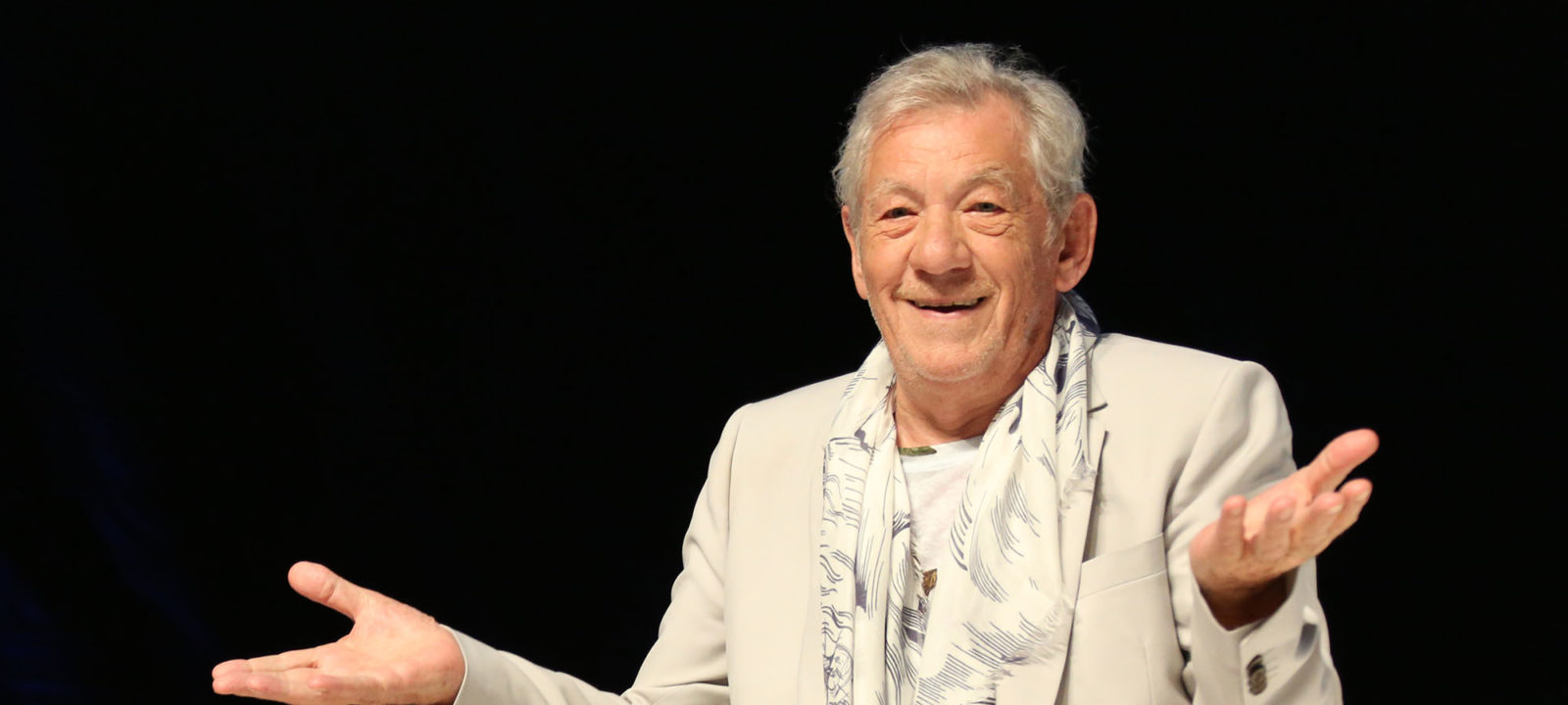 Sir Ian McKellen Attends The Cannes Lions For The First Time With The Brooklyn Brothers