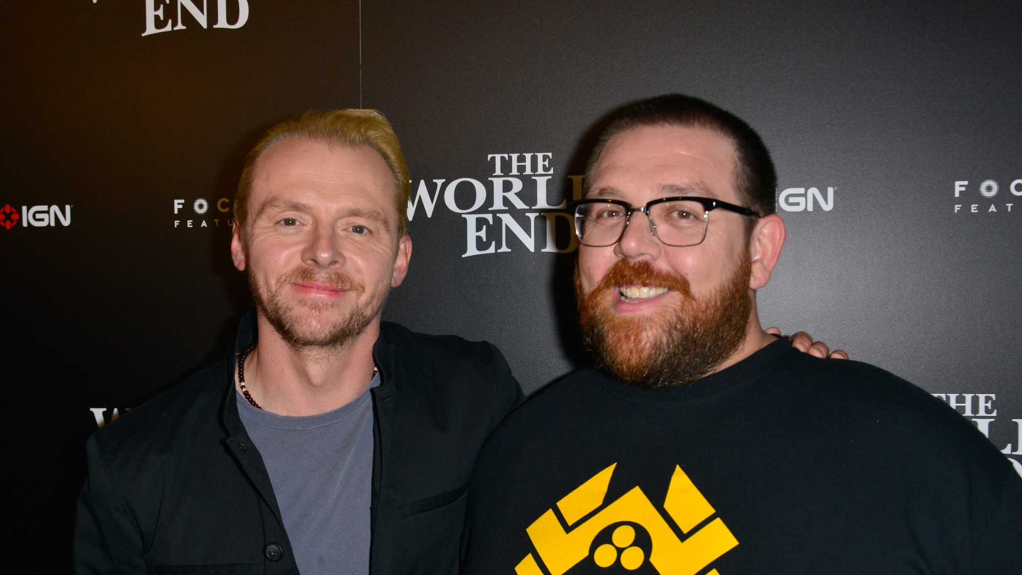 WATCH: Simon Pegg and Nick Frost Share Hilarious 'Shaun of ...