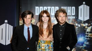 Matt Smith Karen Gillan Arthur Darvill