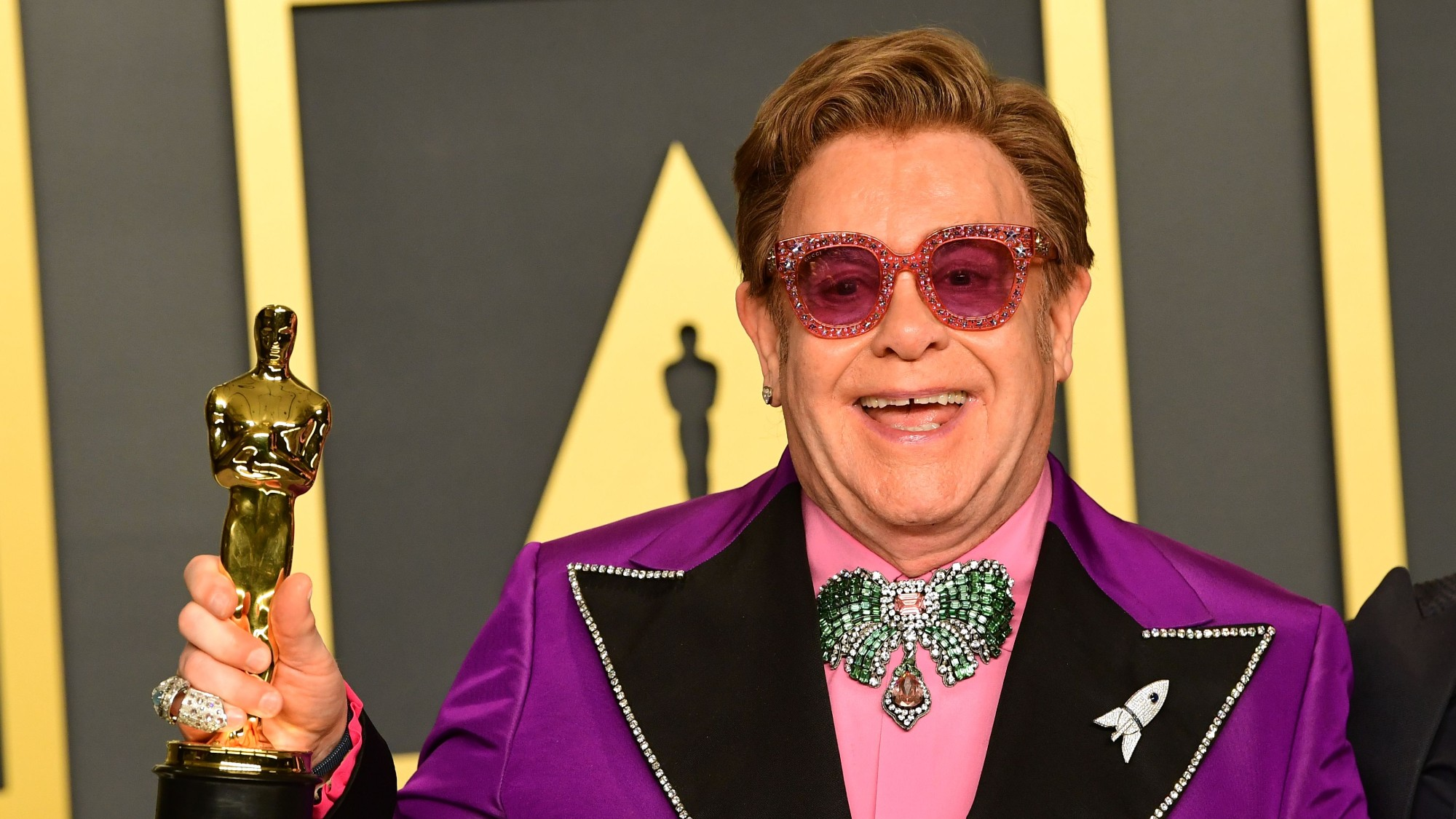 Sir Elton John Says Hes Thrilled About Being Referenced In