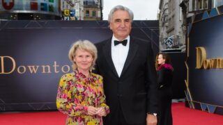 Jim Carter and Imelda Staunton