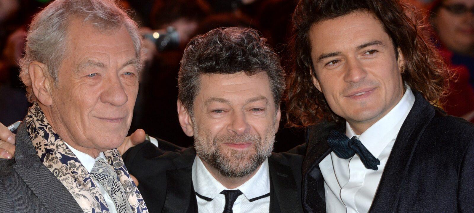 Sir Ian McKellen Andy Serkis Orlando Bloom