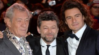 Sir Ian McKellen Andy Serkis Orlando Bloom
