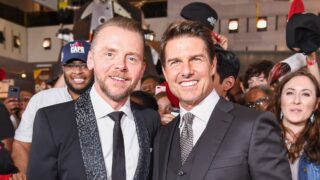 Simon Pegg Tom Cruise