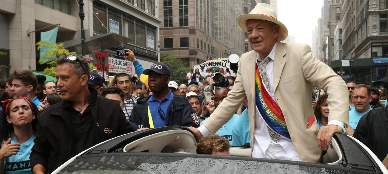Sir Ian McKellen New York Pride
