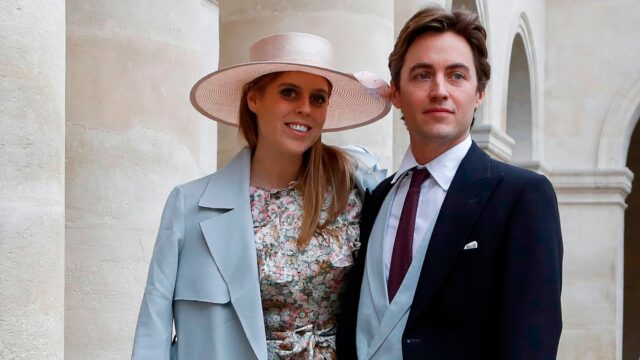 Princess Beatrice Edoardo Mapelli Mozzi