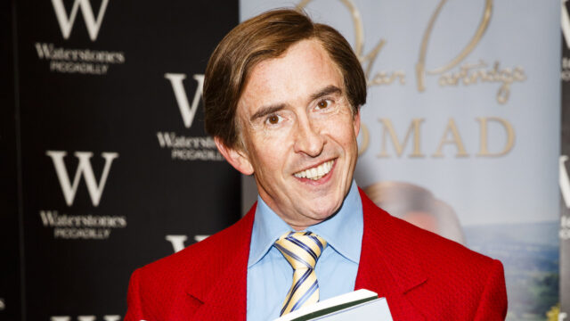 Steve Coogan As Alan Partridge – Book Signing
