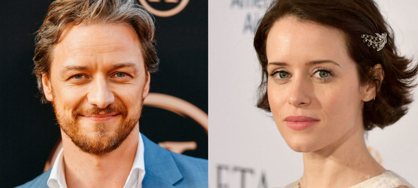 James McAvoy Claire Foy