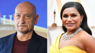 Sir Ben Kingsley Mindy Kaling