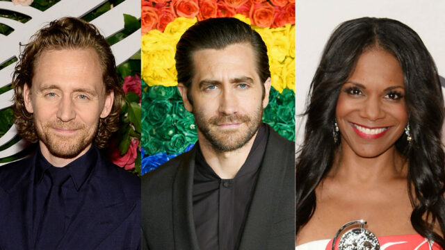 Tom Hiddleston Jake Gyllenhaal Audra McDonald