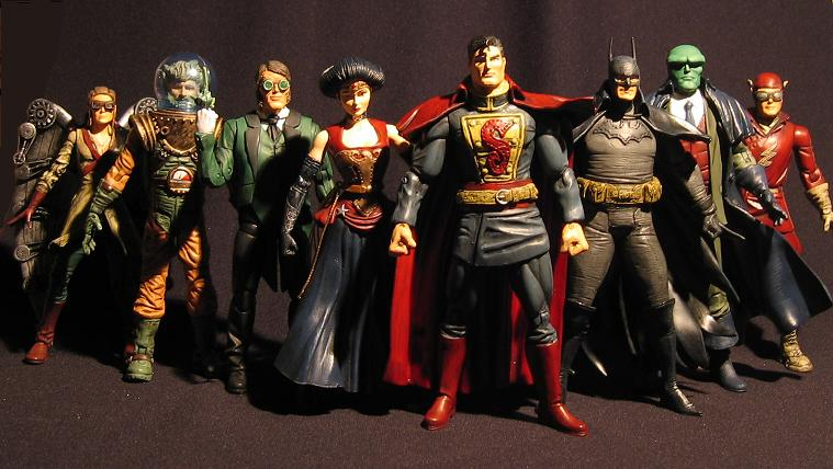 The Steampunk Justice League of Victorian England