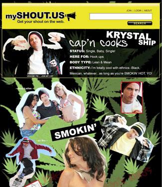 Jesse Pinkman's mySHOUT Page
