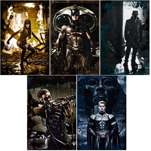 See the <em>Watchmen</em> in First Character Pics