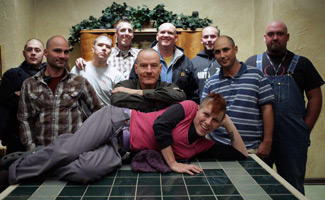 Crew Joins Bryan Cranston in Baldness on <i>Breaking Bad</i> Set