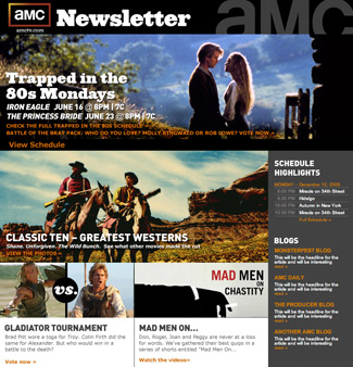 Sign up for the AMC Newsletter Today
