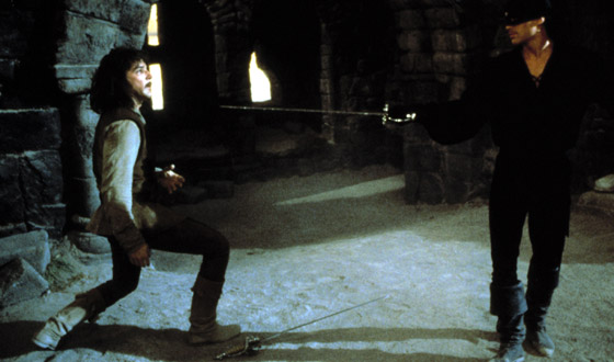 In <I>The Princess Bride</i>, Mandy Patinkin's Swordplay Upset His Son