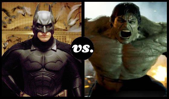 Batman vs. Hulk – The Mightiest Superhero Tournament Begins!