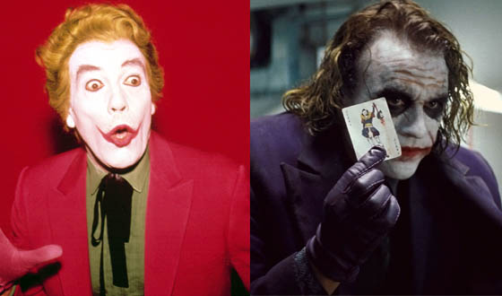 Heath Ledger's Joker Harkens to Cesar Romero
