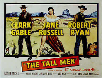 Jane Russell Didn&#8217;t Need Clark Gable&#8217;s Help in <i>The Tall Men</i>