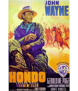Thanks to Funny Glasses, John Wayne Literally Leaps From the Screen in <i>Hondo</i>