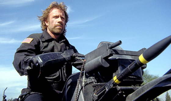 Beyond <I>Delta Force</i> Chuck Norris Takes on Cartoon Robots