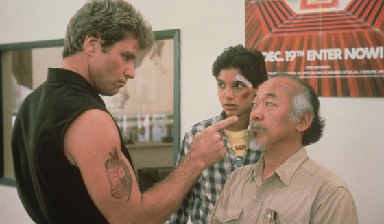 The Teaching Style of <I>The Karate Kid</i>'s Mr. Miyagi Extends to Outer Space