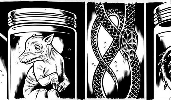 Web Stalker – How Charles Burns Got the <i>Fear(s)</i> of His Dreams