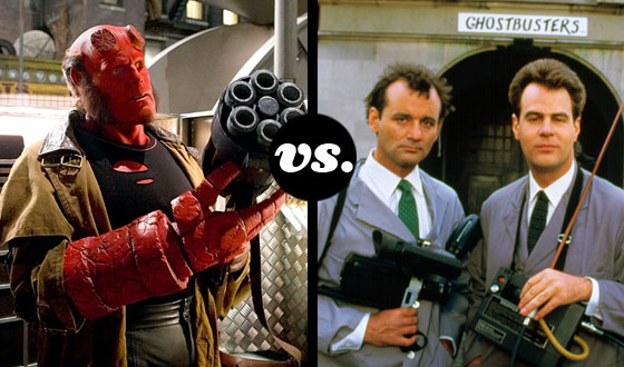 Monster Hunter Tournament, Round 2 – Hellboy (No. 3) vs. The Ghostbusters (No. 6)