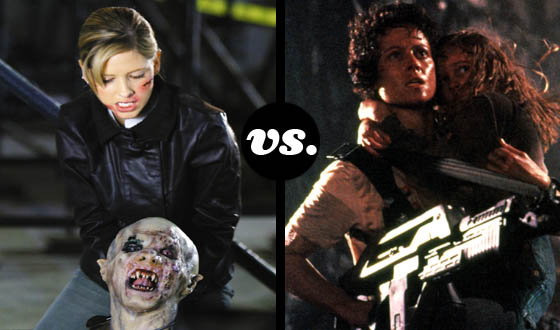 Master Monster Hunter Tournament Semifinals: Buffy (No. 1) vs. Ripley (No. 5)
