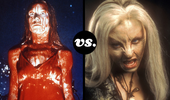 Greatest Supernatural Teen Tournament – Carrie White (No. 3) vs. Ginger Fitzgerald (No. 14)