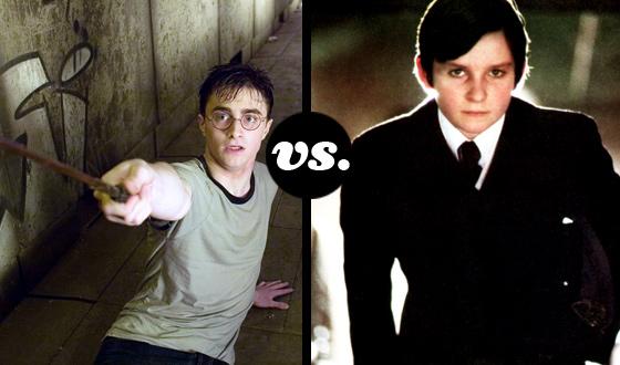 Greatest Supernatural Teen Tournament – Quarterfinals: Harry Potter (No. 1) vs. Damien (No. 8)