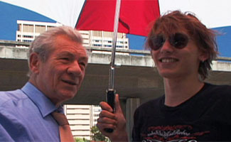 Jamie Campbell-Bower Interviews Ian McKellen – Part 3