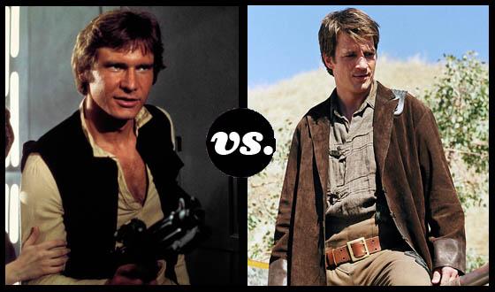 <em>Serenity</em>&#8216;s Mal and <em>Star Wars</em>&#8216;s Han Quickdraw for Space Cowboy Title
