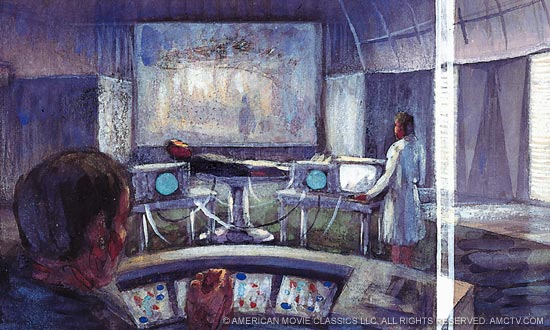 <em>The Prisoner</em> 1960s Production Design Sketches