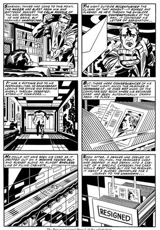 """Jack """"King"""" Kirby's """"Lost"""" Comic Book Version of <em>The Prisoner</em>"""
