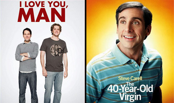 Now or Then – <i>I Love You, Man</i> or <i>The 40-Year-Old Virgin</i>?