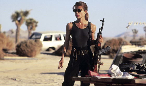 Sarah Connor Terminates Beatrix Kiddo for Tough Chick Title