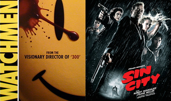 Now or Then &#8211; <em>Watchmen</em> or <em>Sin City</em>?