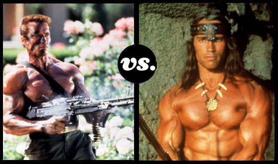 Arnold Vs. Arnold! Schwarzeneggers Face Off, Tournament-Style