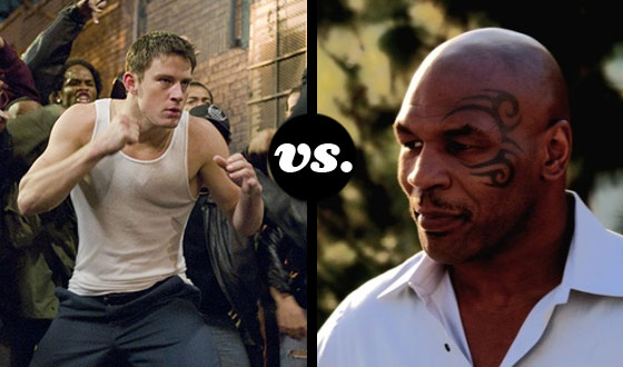 Tyson Would K.O. <i>Fighting</i>'s Channing Tatum But Could De Niro's La Motta Beat Sly's Rocky?